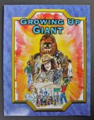 ESTATE OF DAVE PROWSE - GROWING UP GIANT PETER MAYHEW SIGNED