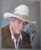 ESTATE OF DAVE PROWSE - HOWARD KEEL - SIGNED DEDICATED PHOTO