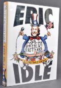 ESTATE OF DAVE PROWSE - ERIC IDLE (MONTHY PYTHON) SIGNED BOOK