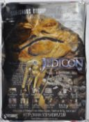 ESTATE OF DAVE PROWSE - ORIGINAL JEDICON PERSONAL APPEARANCE POSTER