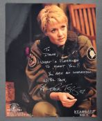 ESTATE OF DAVE PROWSE - STARGATE SG1 - AMANDA TAPPING SIGNED PHOTO