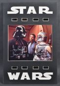 ESTATE OF DAVE PROWSE - VADER & FETT DUAL SIGNED PHOTOGRAPH