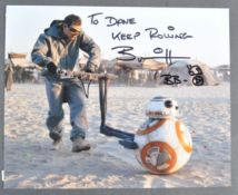 ESTATE OF DAVE PROWSE - STAR WARS - BRIAN HERRING SIGNED PHOTO