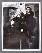 ESTATE OF DAVE PROWSE - HAMMER HORROR - JIMMY SANGSTER AUTOGRAPH