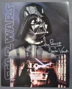 """ESTATE OF DAVE PROWSE - LARGE 11X14"""" SIGNED POSTCARD PHOTO"""