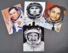ESTATE OF DAVE PROWSE - RUSSIAN COSMONAUT AUTOGRAPH COLLECTION