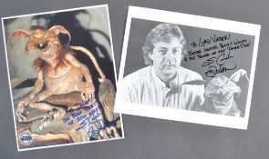 ESTATE OF DAVE PROWSE - STAR WARS - UNIQUE MARK DODSON SIGNED PHOTOS