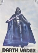 ESTATE OF DAVE PROWSE - STAR WARS - POSTER DISPLAYED IN STAR GYM