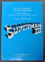 ESTATE OF DAVE PROWSE - PROWSE'S PERSONAL SUPERMAN III PREMIERE BROCHURE