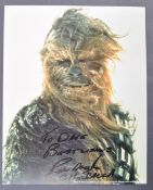 ESTATE OF DAVE PROWSE – STAR WARS - PETER MAYHEW SIGNED PHOTO