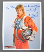 ESTATE OF DAVE PROWSE - MARK HAMILL - SIGNED OFFICIAL PIX PHOTO