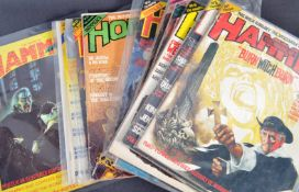 ESTATE OF DAVE PROWSE - THE HOUSE OF HAMMER COLLECTION MAGAZINES