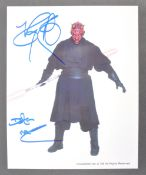 ESTATE OF DAVE PROWSE - STAR WARS - RAY PARK SIGNED PHOTO