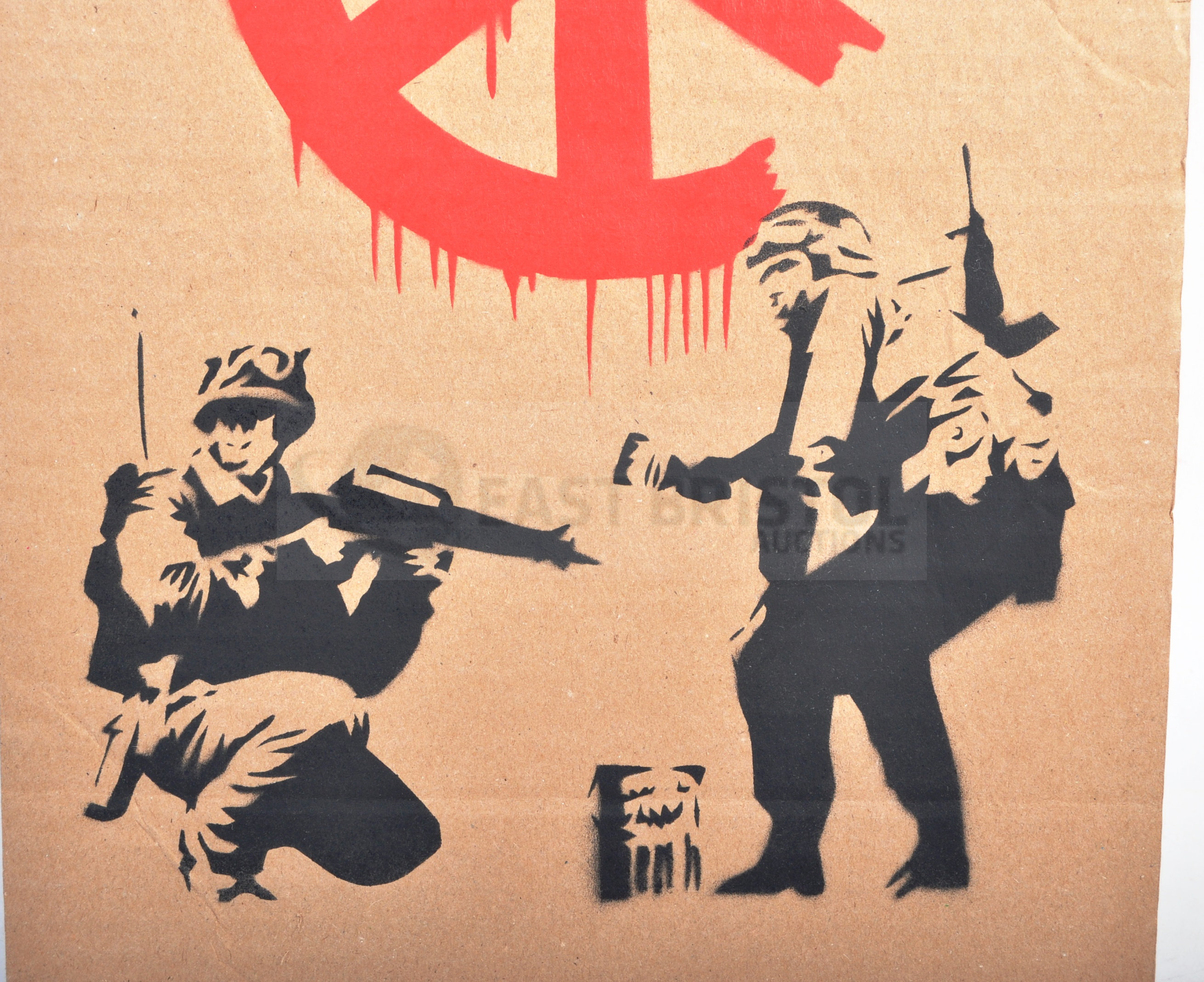 BANKSY - DISMALAND 2015 - CND SOLDIERS - Image 2 of 4