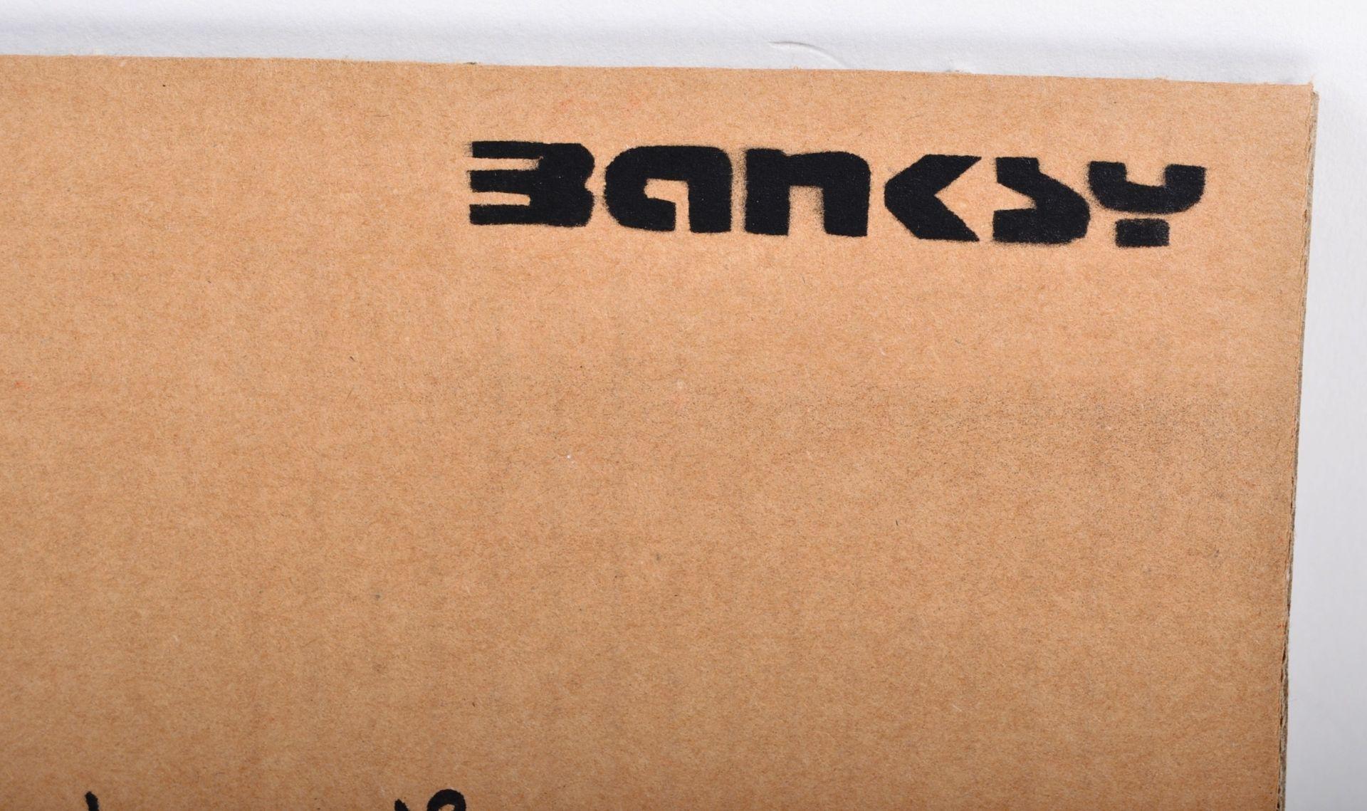 BANKSY - DISMALAND 2015 - THUG FOR LIFE - Image 3 of 3