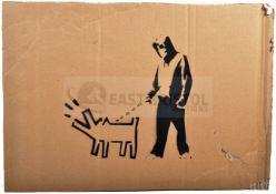 BANKSY - DISMALAND 2015 - KEITH HARING DOG