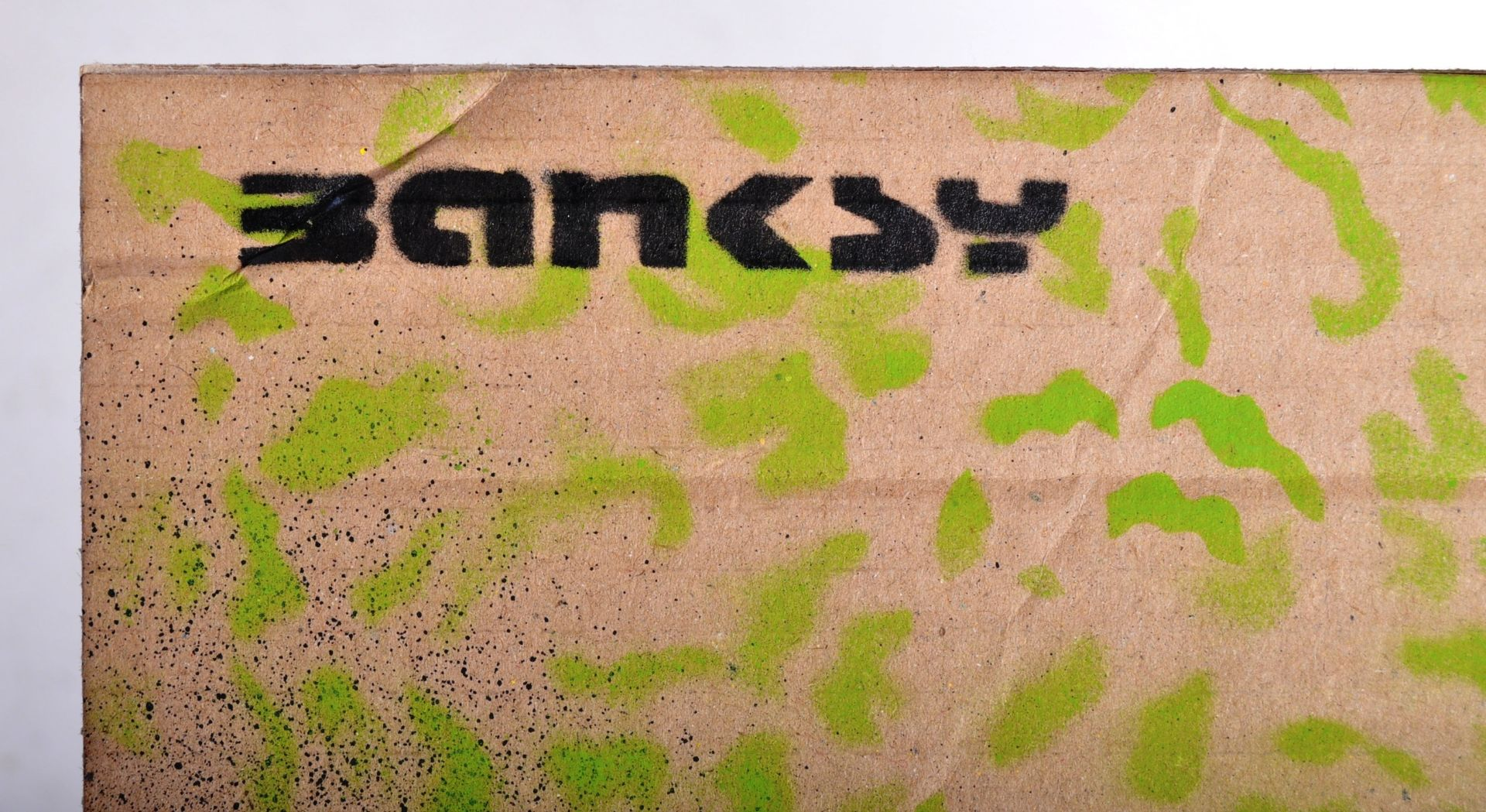 BANKSY - DISMALAND 2015 - ABE LINCOLN - Image 3 of 4