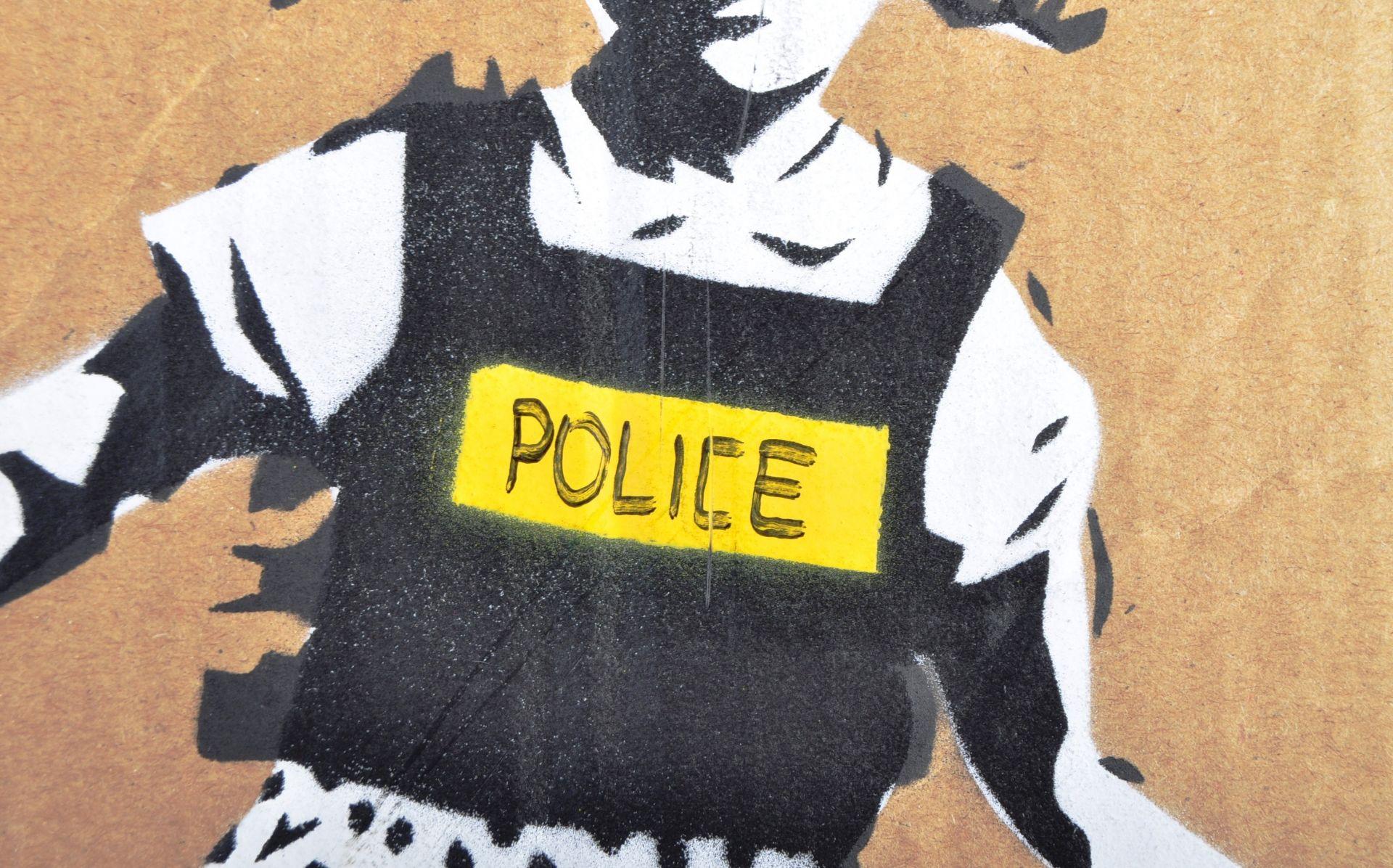 BANKSY - DISMALAND 2015 - JACK & JILL (POLICE KIDS) - Image 3 of 4