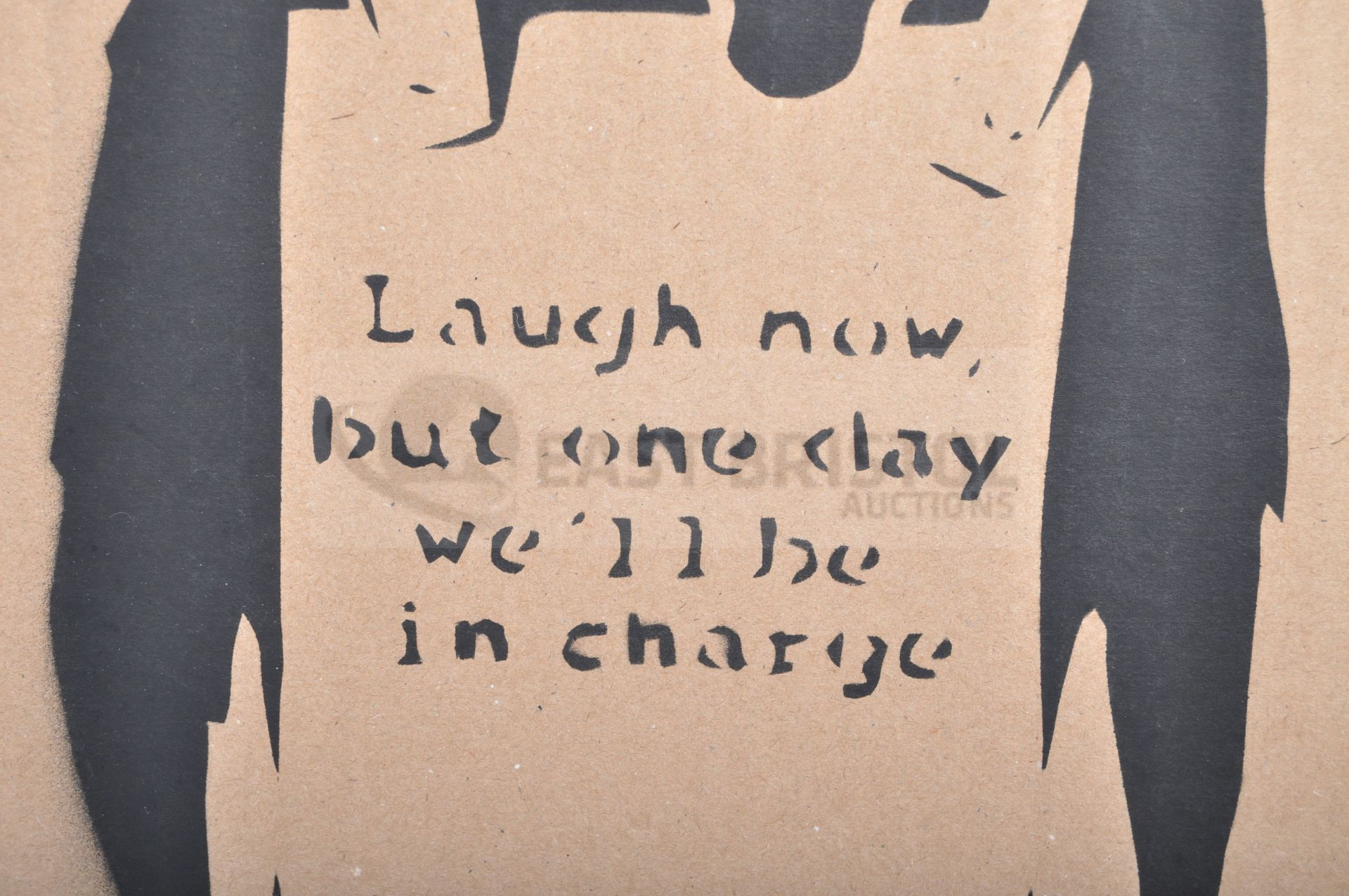 BANKSY - DISMALAND 2015 - LAUGH NOW - Image 3 of 3