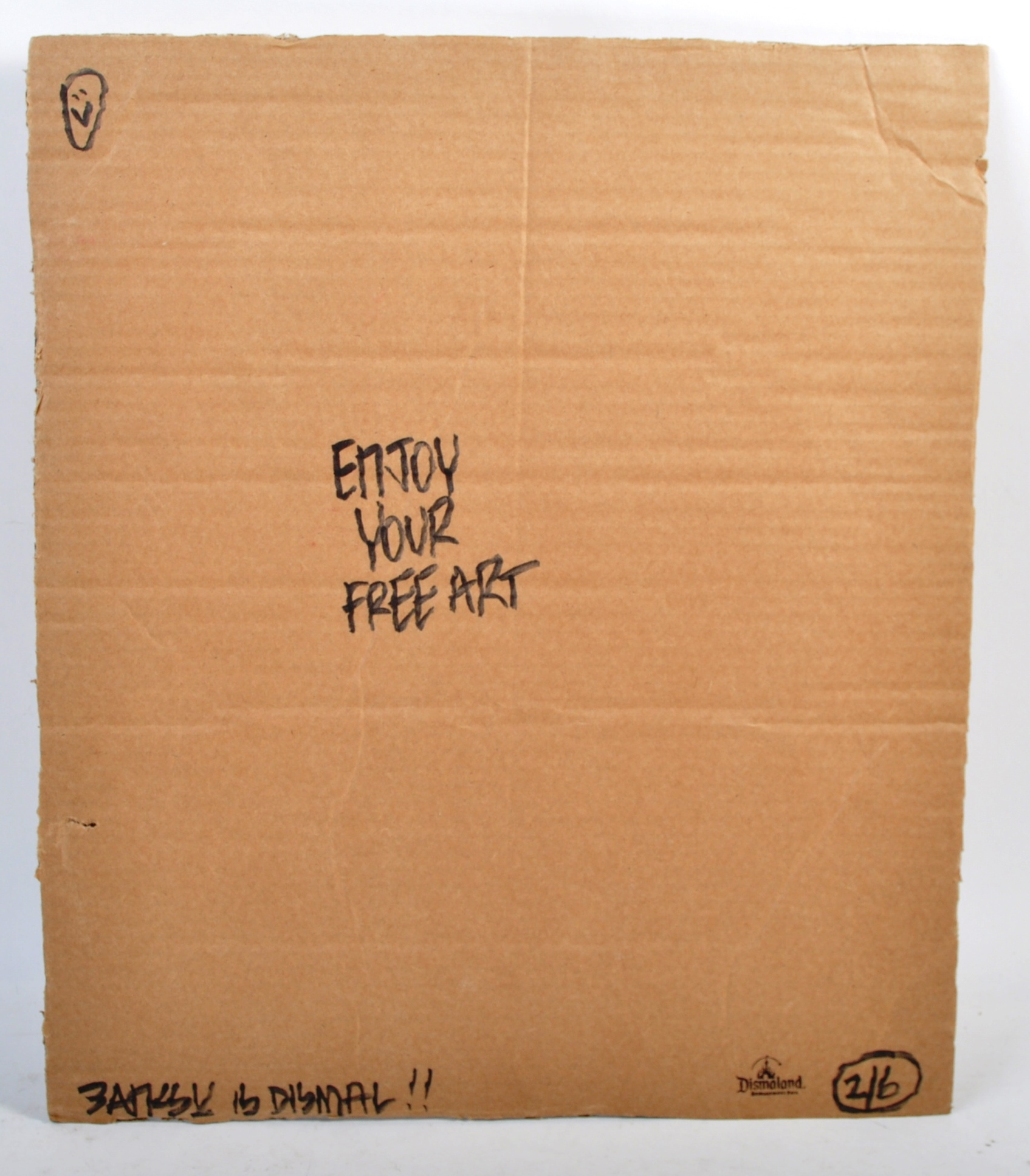 BANKSY - DISMALAND 2015 - WHAT? - Image 3 of 3