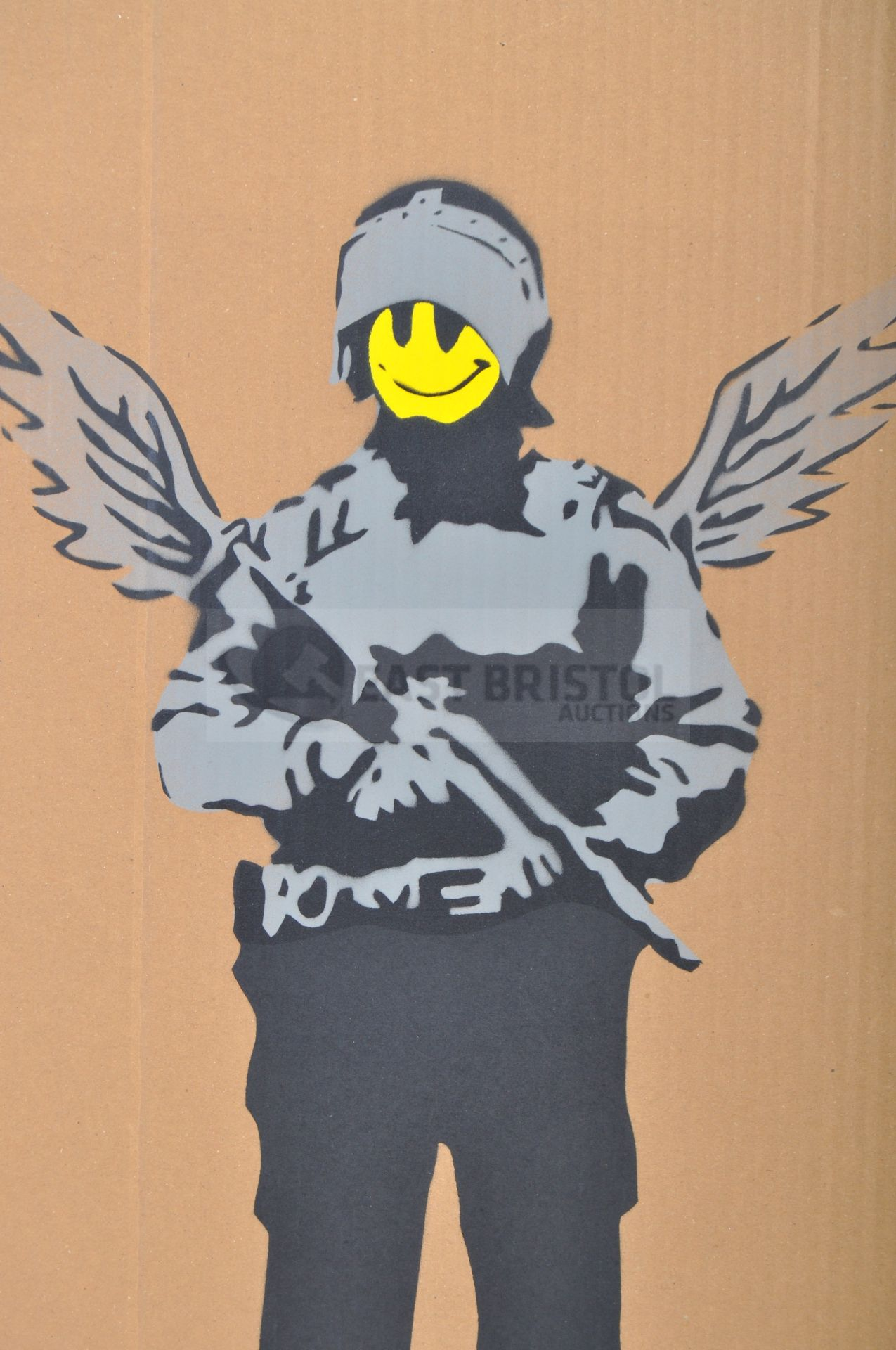 BANKSY - DISMALAND 2015 - FLYING COPPER - Image 2 of 4