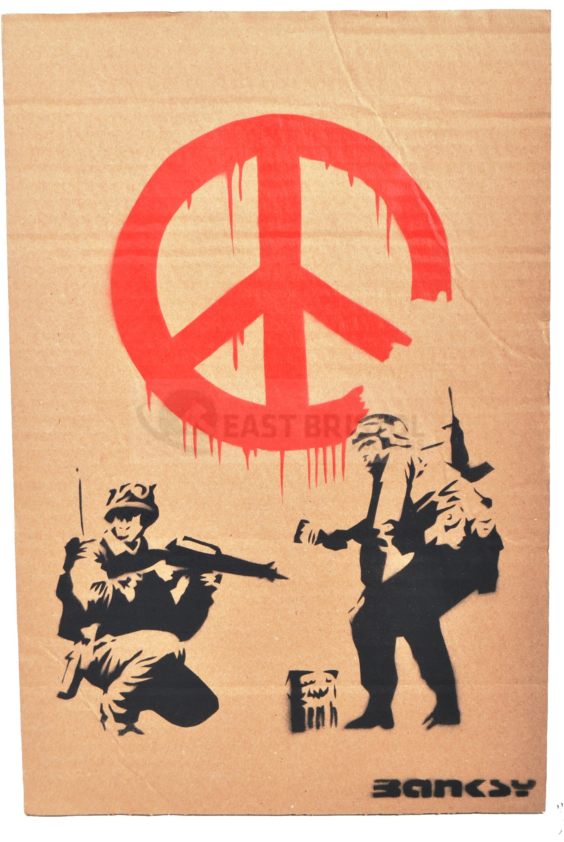 BANKSY - DISMALAND 2015 - CND SOLDIERS