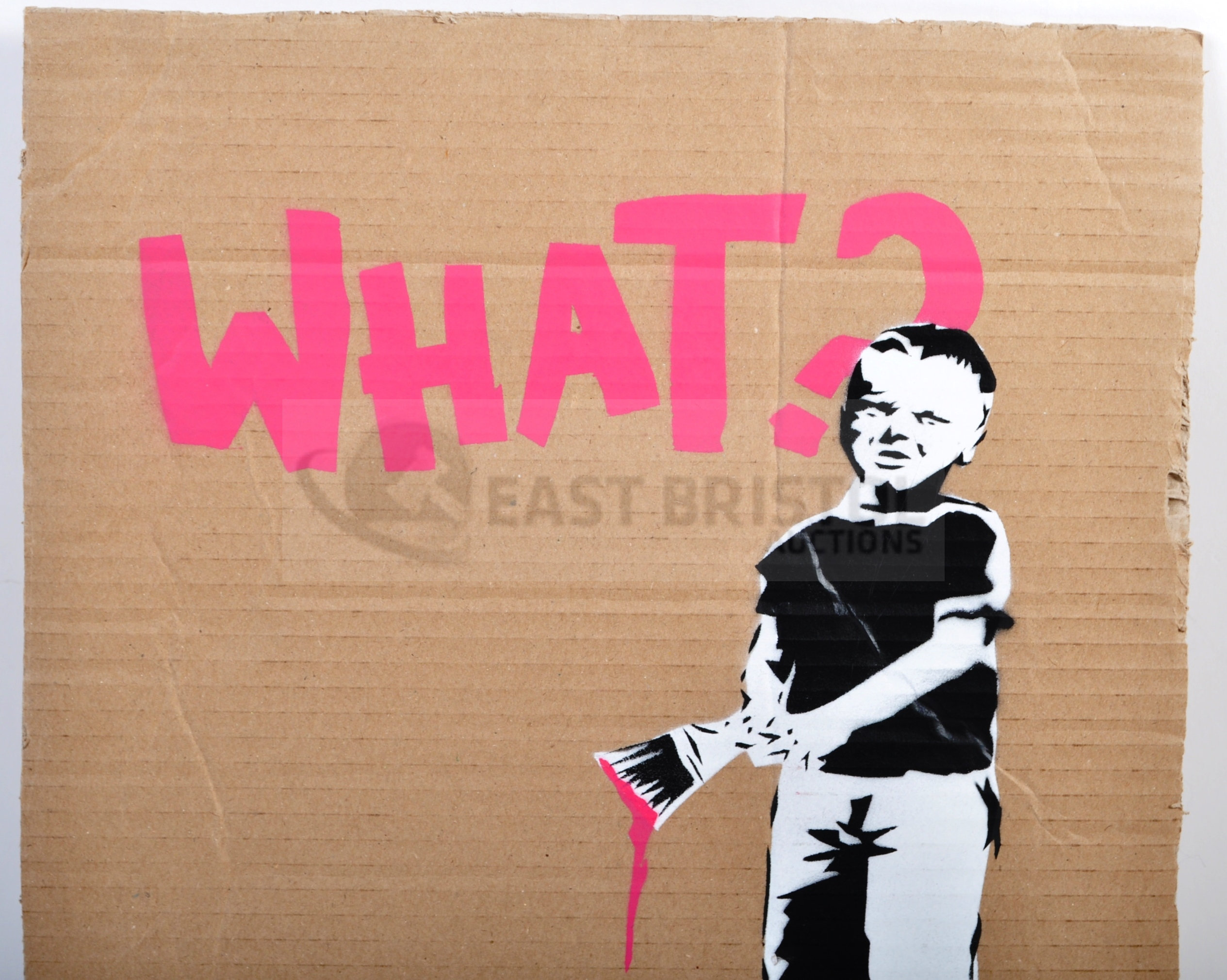 BANKSY - DISMALAND 2015 - WHAT? - Image 2 of 3