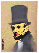 BANKSY - DISMALAND 2015 - ABE LINCOLN