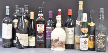 MIXED SELECTION OF ASSORTED BOTTLED WINES AND SPIRITS