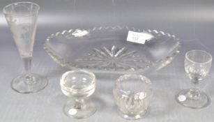 COLLECTION OF ANTIQUE 18TH/19TH CENTURY GLASS
