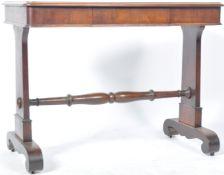 ANTIQUE 19TH CENTURY MAHOGANY WRITING TABLE