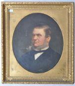 JOHN HORSBURGH (1835-1924) - SCOTTISH - PORTRAIT PAINTING OF GENTLEMAN