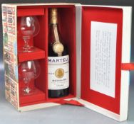 RARE BOTTLE OF MARTELL CHAMPAGNE COGNAC IN CATHEDRAL BOX