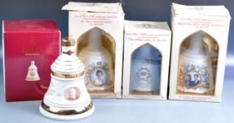 COLLECTION OF BELLS WHISKY COMMEMORATIVE DECANTERS