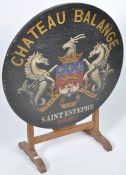 ANTIQUE 19TH CENTURY FRENCH PAINTED VENDANGE TABLE TABLE DE VIGNERON