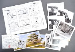 AARDMAN ANIMATIONS - PRODUCTION USED WALLACE & GROMIT STORYBOARDS