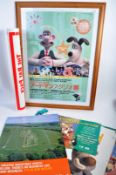 AARDMAN ANIMATIONS - COLLECTION OF ASSORTED POSTERS