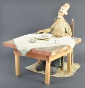 AARDMAN ANIMATIONS - WAR STORY (1989) - SCREEN USED ANIMATION PUPPET