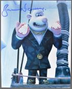 AARDMAN ANIMATIONS - BILL NIGHY - FLUSHED AWAY SIGNED PHOTO
