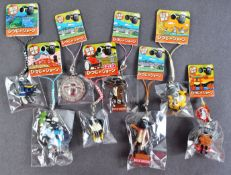 COLLECTION OF ASSORTED JAPANESE SHAUN THE SHEEP KEYRINGS