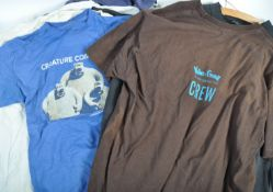 AARDMAN ANIMATIONS - COLLECTION OF 'CREW' T-SHIRTS