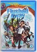 AARDMAN ANIMATIONS - FLUSHED AWAY (2006) - CAST SIGNED DVD