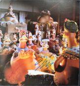 AARDMAN ANIMATIONS - CHICKEN RUN (2000) - DUAL SIGNED PHOTOGRAPH