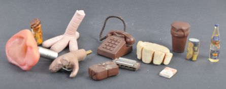 AARDMAN ANIMATIONS - ASSORTED PRODUCTION USED PROPS
