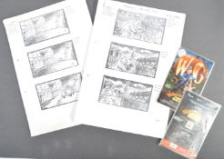 AARDMAN ANIMATIONS - THE CURSE OF THE WERE-RABBIT ORIGINAL STORYBOARDS