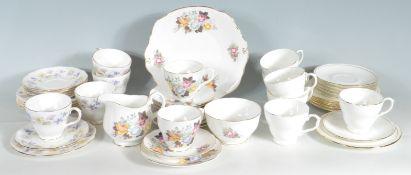 THREE DUCHESS BONE CHINA TEA SETS