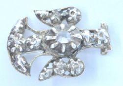 GEORGIAN ANTIQUE DIAMOND BIRD BROOCH
