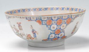 18TH CENTURY CHINESE FOOTED BOWL