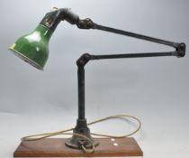 MEK-ELEK - RETRO VINTAGE INDUSTRIAL FACTORY DESKTOP ANGLEPOISE LAMP