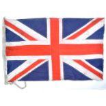 ORIGINAL WWII SECOND WORLD WAR ROYAL MARINES UNION JACK FLAG